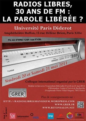 You are currently viewing Colloque «Radios libres, 30 ans de FM : la parole libérée?»