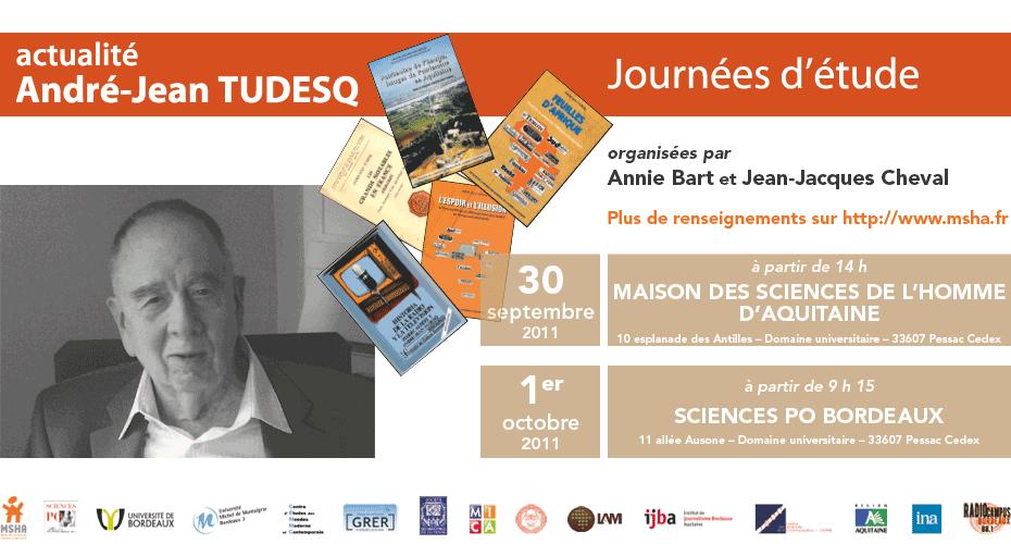 You are currently viewing Journées d'étude André-Jean Tudesq
