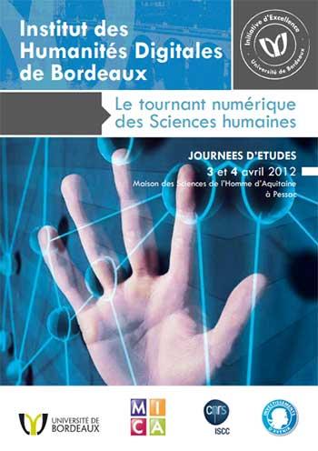 Journées d'études Humanités digitales