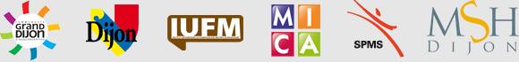 Logos des soutiens du colloque
