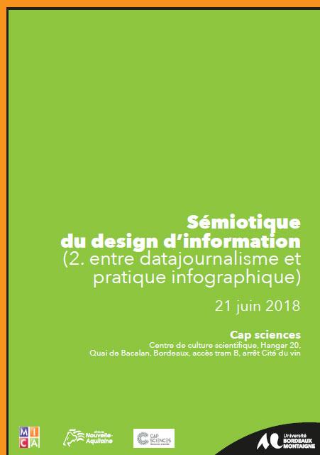 Journée d'étude : Sémiotique du design d'information (2)