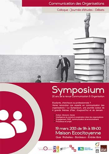 Symposium : 20 ans de la revue Communication & Organisation
