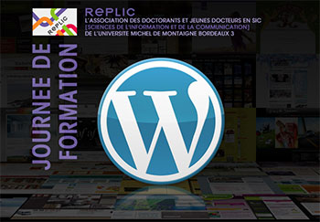 Journée de formation WordPress organisée par le REPLIC