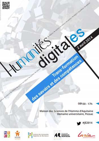 4e journée d'études Humanités digitales : Trans-formation des savoirs et des compétences