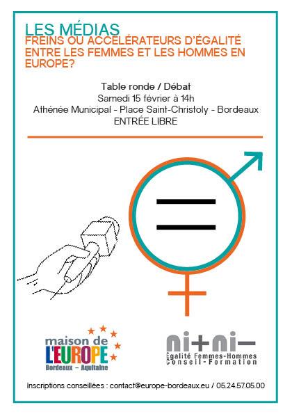 Conférence : Médias, freins ou accélérateurs d'égalité entre les femmes et les hommes ?