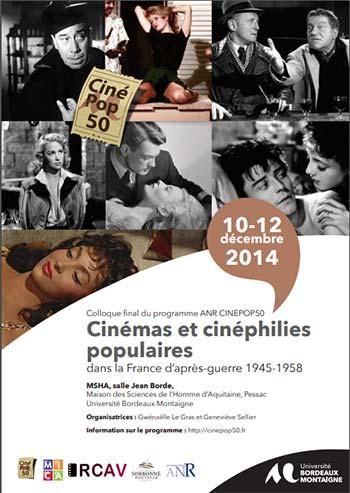 You are currently viewing Colloque : Cinéma et cinéphilies populaires