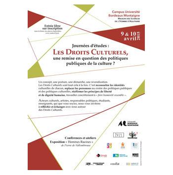 Journées d'études : Les Droits Culturels