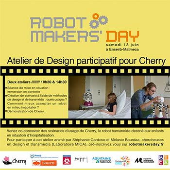 Atelier : Robot makers' day