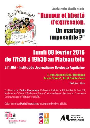 Conférence : Humour et liberté d'expression