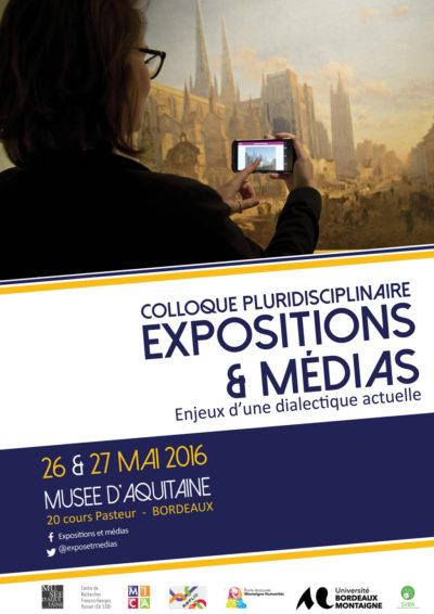Colloque : Expositions & médias