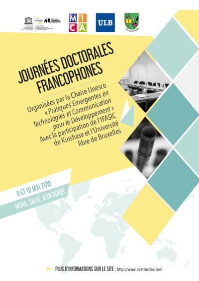 Journées doctorales francophones
