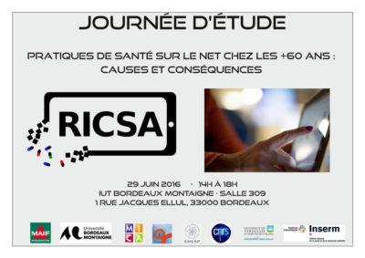 RICSA : Journée d'étude