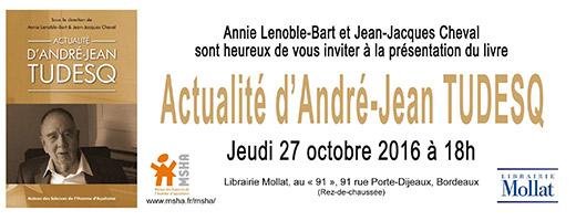 Présentation d'ouvrage : Actualité d'André-Jean Tudesq