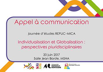 Appel à communication – REPLIC / MICA