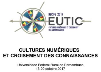 Appel à communication : Colloque International EUTIC 2017