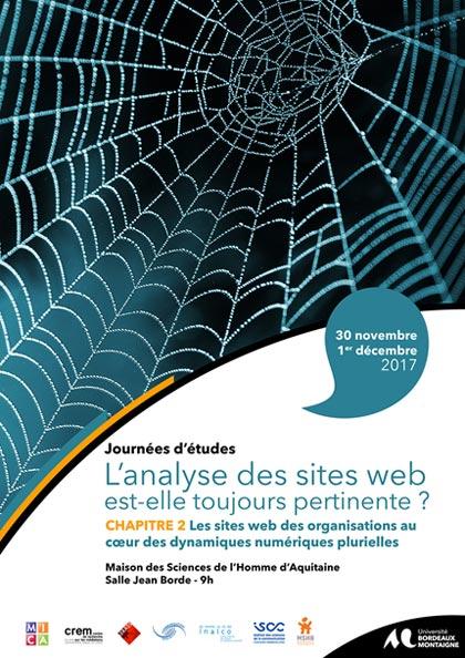 Appel à communication : sites web