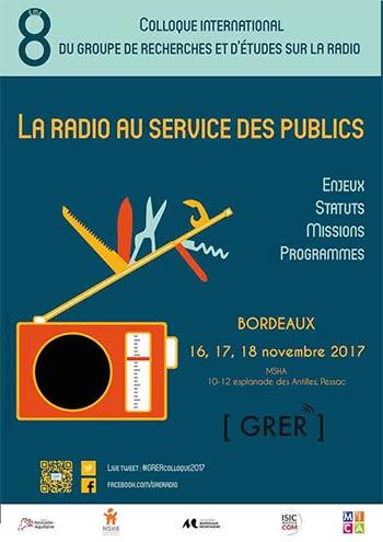 Colloque : La radio au service des publics