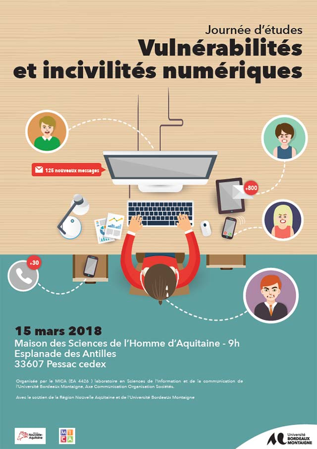 Journée d'étude : Vulnérabilités et incivilités numériques