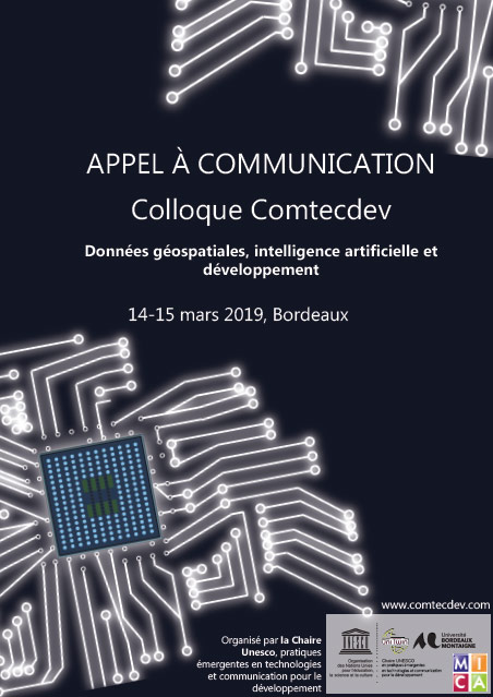 Appel à communication : Colloque Comtecdev 2019 Bordeaux