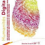 Séminaire E3D : Les sciences de l'écrit et les humanités digitales : autour des méthodes et des pratiques
