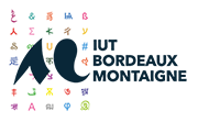 logo IUT Bordeaux Montaigne
