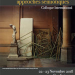 Colloque : Monuments, (dé)monumentalisation : approches sémiotiques 22 et 23 nov 2018