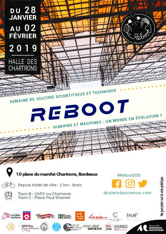 REBOOT – Semaine de culture scientifique et technique