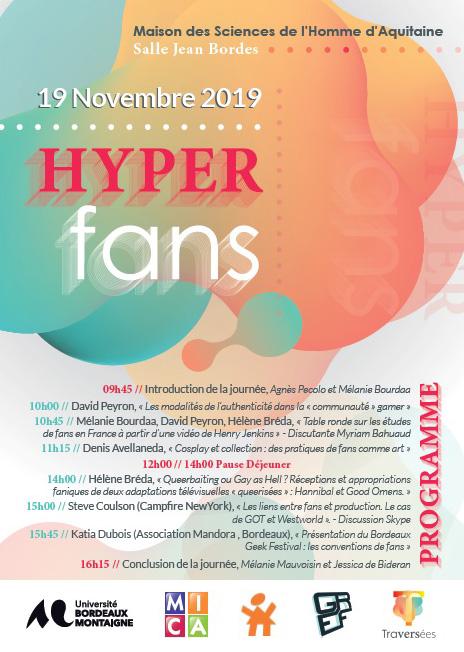 Journée d'étude HyperFans. Traversées des Territoires de fans