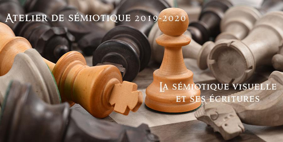 La sémiotique visuelle et ses écritures – Atelier n°2 de sémiotique 2019-2020