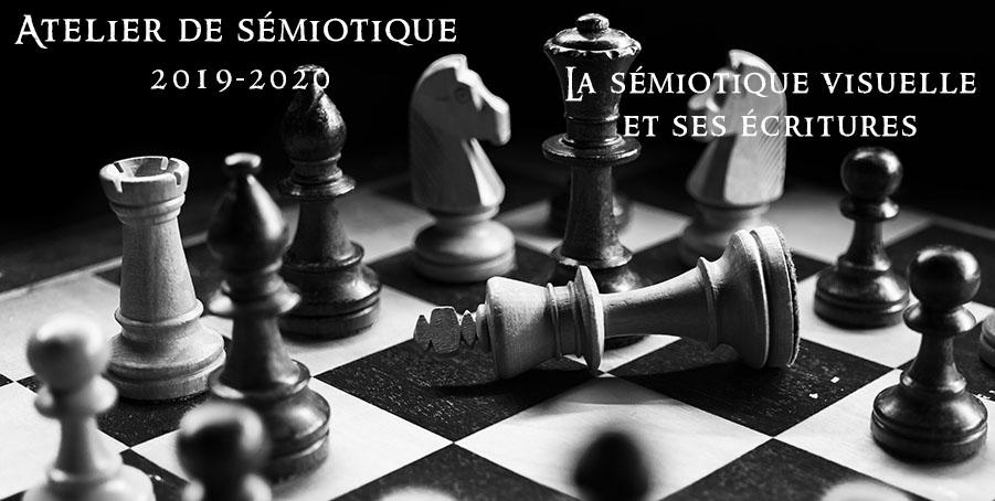 La sémiotique visuelle et ses écritures – Atelier n°4 de sémiotique 2019-2020