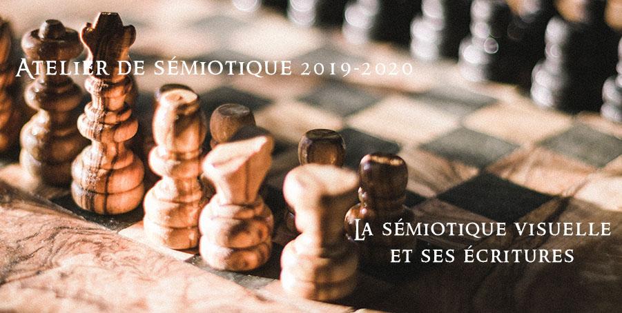 La sémiotique visuelle et ses écritures – Atelier n°5 de sémiotique 2019-2020