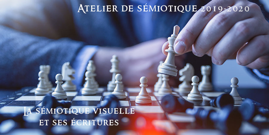 La sémiotique visuelle et ses écritures – Atelier n°6 de sémiotique 2019-2020