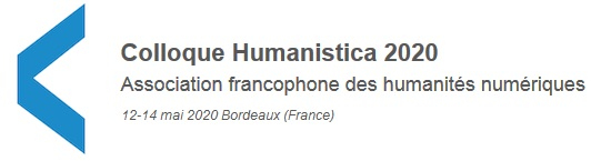Colloque Humanistica 2020
