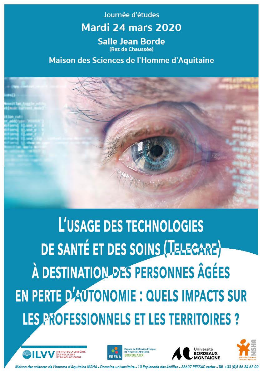 You are currently viewing L'usage des technologies de santé et des soins (Telecare) à destination des personnes âgées en perte d'autonomie : Quels impacts sur les professionnels et les territoires ?