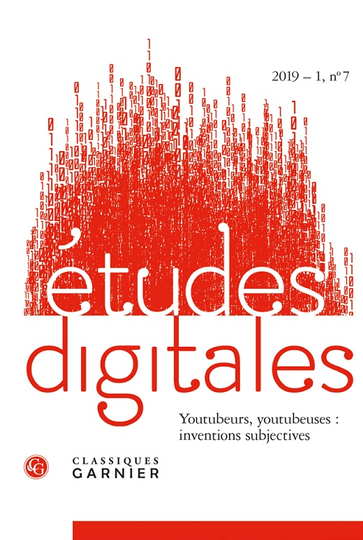 Études digitales : Youtubeurs, youtubeuses : inventions subjectives