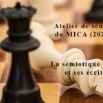 La sémiotique visuelle et ses écritures - Atelier 2/2021