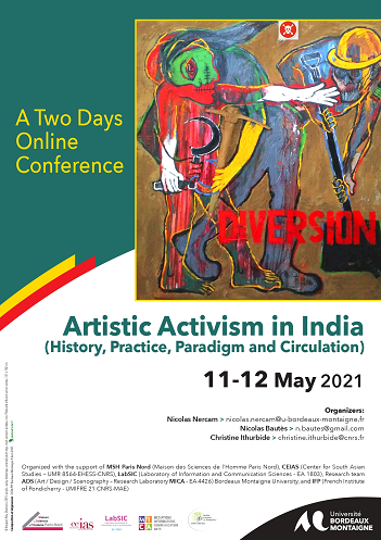 You are currently viewing Journée d'étude Artistic Activism in India (History, Practice, Paradigm and Circulation)